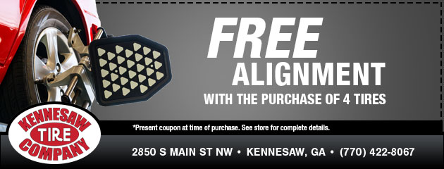 Free Alignment with Tire Purchase Special