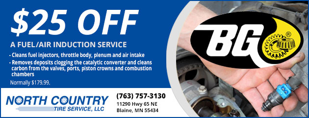 $25.00 off a Fuel/Air Induction Service