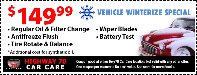 Vehicle Winterization Check