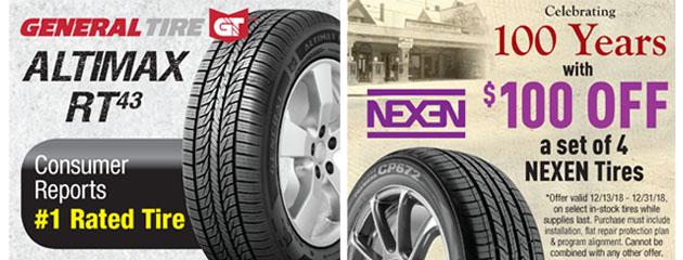 Ziegler Tire Tires Auto Repair Shop Oh Ky Pa
