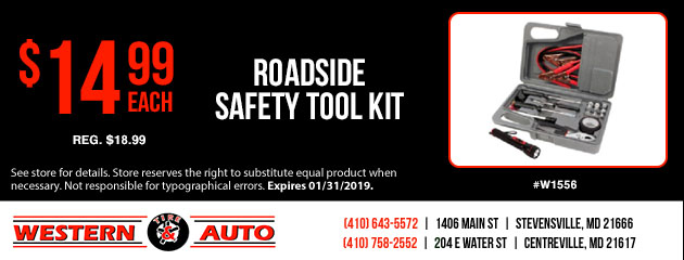 Roadside Safety Tool Kit