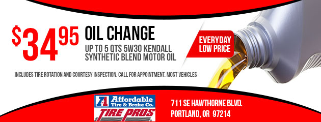 $34.95 Oil Change Special