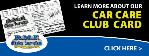 Car Care Club Card