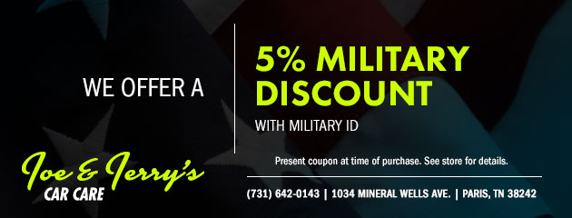 5% Military Discount