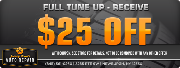 $25 Off a Full Tune Up