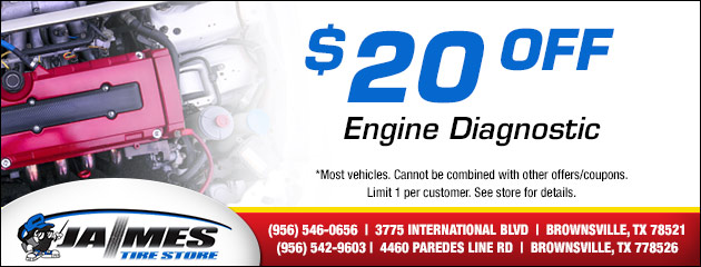 $20 Off Engine Diagnostic Special
