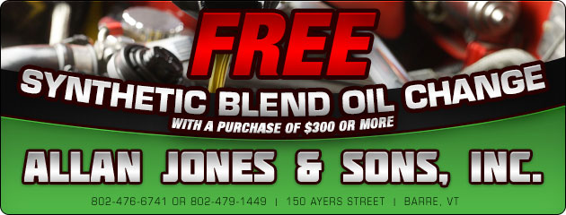Free Synthetic Blend Oil Change Special