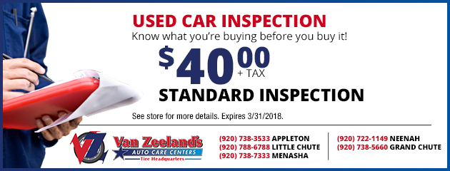 Used Car inspection - $40