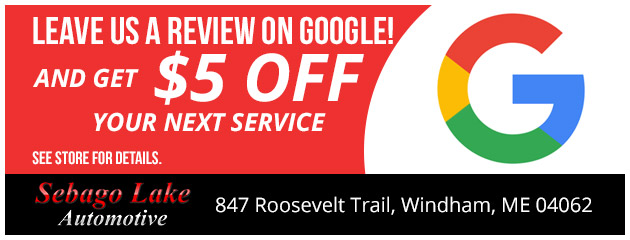 Leave Us A Review On Google and Get $5.00 Off Your Next Service