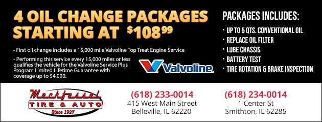 4 Oil Change Packages Starting At $108.99