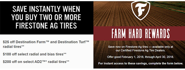 Firestone Farm Hard Promo