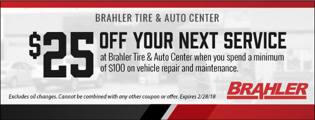 $25 Off Your Next Service