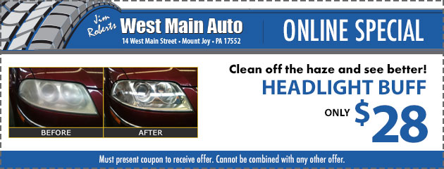 Headlight Buff - ONLY $28