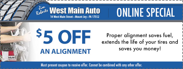 Alignment - $5 Off