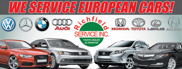 We Service European Cars