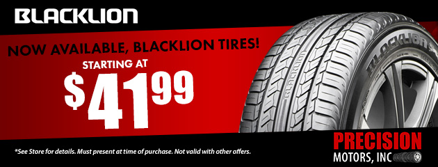 Now Available Blacklion Tire! Starting At $41.99