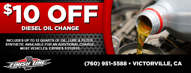 $10 Off Diesel Oil Change