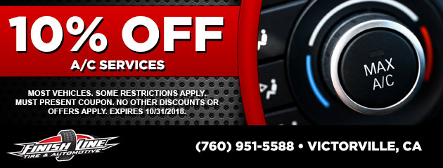 10% Off A/C Service Special
