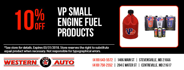VP Small Engine Fuel Products