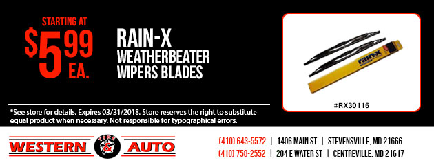 Rain-X WeatherBeater Wipers Blades