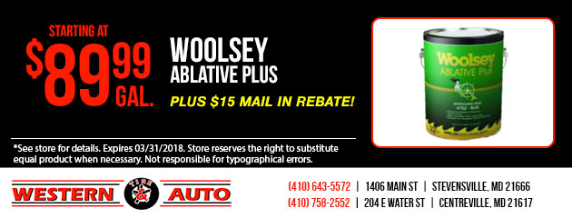 woolsey Ablative Plus Special