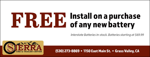 Free Install on a Purchase of Any New Battery