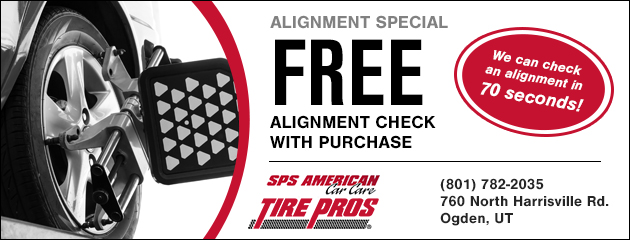 FREE Alignment Check with Purchase