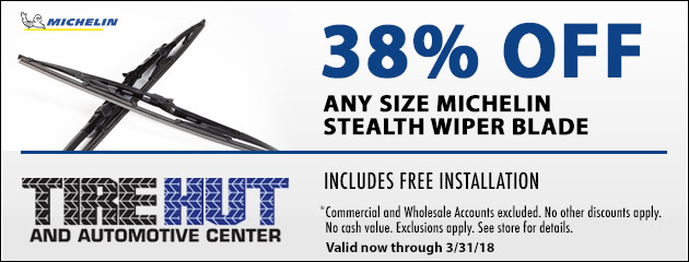 38% Off Any Size Michelin Stealth Wiper Blade