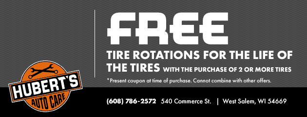 Free Tire Rotations Special