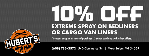 $10 Off Extreme Spray Special
