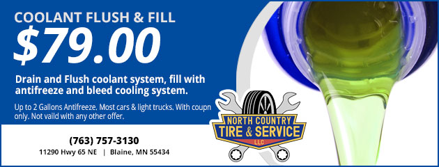 Coolant Flush & Fill $79.00