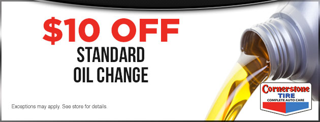 $10 Off Standard Oil Change