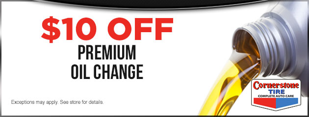 $10 Off Premium Oil Change