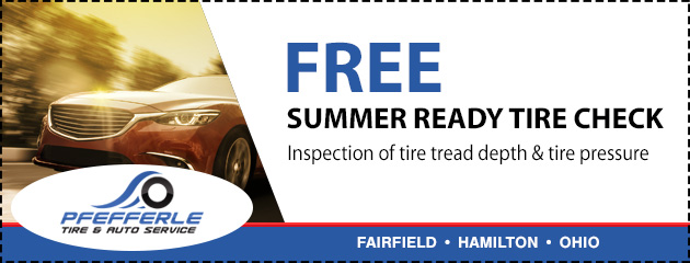 Free Summer Ready Tire Check