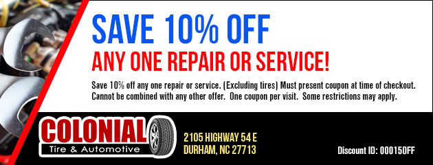 Save 10% on a Repair