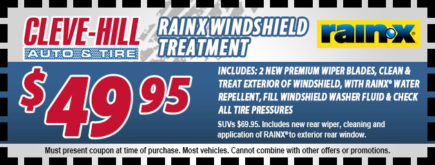 RainX Windshield Treatment