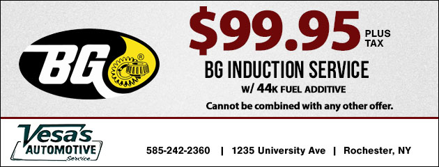 $99.95 - BG Induction Service
