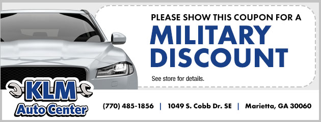 Ask about the Military Discount!
