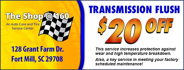 $10 Off Transmission Flush