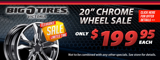 Chrome Wheel Sale