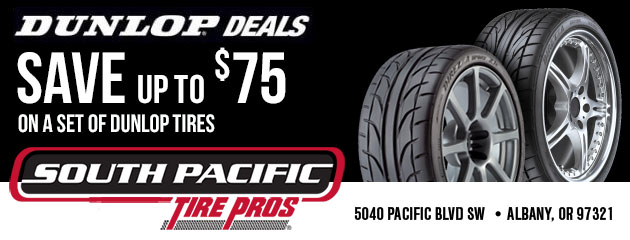 Dunlop Deals - Save up to $75