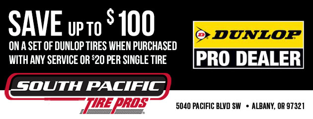 Dunlop Deals - Save up to $100