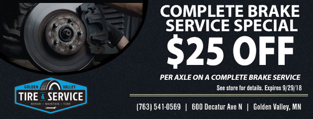 Complete Brake Service Special