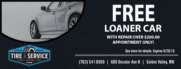 Free Loaner Car with Repair