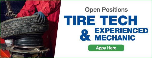 Tire Tech Wanted