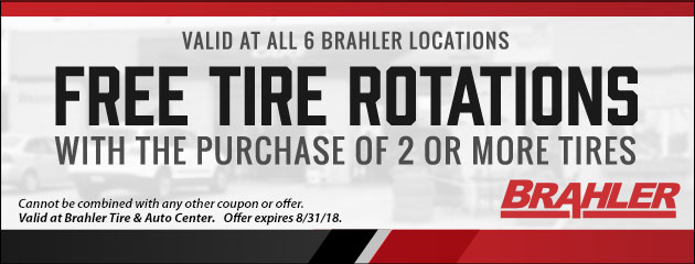 Free Tire Rotation Special