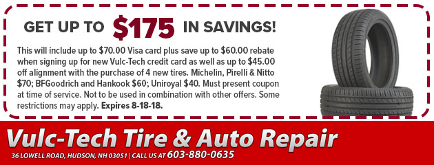 Get up to $175 in Savings!