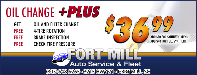 Oil Change Plus - $36.99
