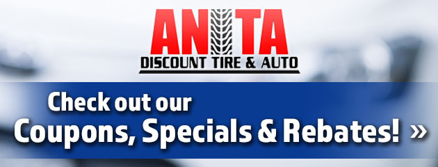 Anita Discount Tire & Auto Savings