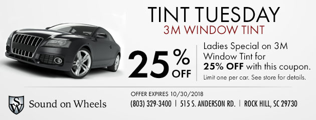 Tint Tuesday Special